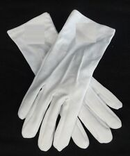 Mason Masonic Prince Hall Plain White Gloves