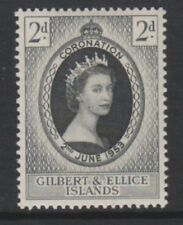 Lightly Hinged Single Gilbert & Ellice Stamps (Pre-1971)