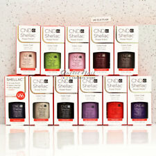 LOT 11 CND SHELLAC UV GEL POLISH COLOR KIT SET 7.3ml / 0.25oz Choose Any