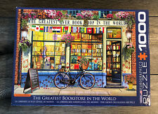 Eurographics Jigsaw Puzzle The Greatest Bookstore in the World 1000 Pieces