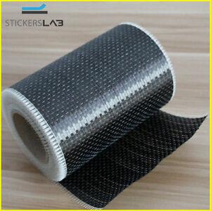 Rotolo in tessuto in vera fibra di carbonio 200 g/m² 12K UD PLAIN unidirezionale