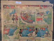LITTLE NEMO SUNDAY Color Strip 7/21/1912 WINSOR McCAY Land Of Wonderful Dreams