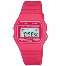 Official Classic Hot Pink Watch F-91WC-4AEF from Casio