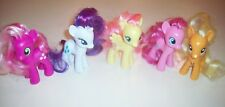 "Hasbro My Little Pony 3"" Brushable ~ Lot of 5 Different Ponies!"