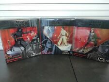 "Star wars black series Kylo Ren Sergeant Jyn Erso Rey. 6"" boxed action figures"