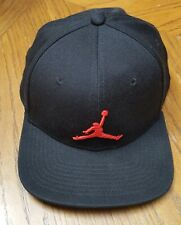 JORDAN Jumpman  Men's Hat Cap SnapBack Black  Air Flight VGC