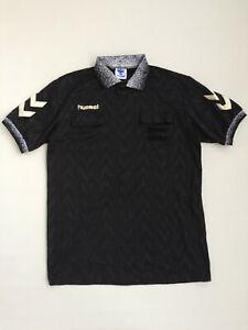 Vintage 90s Original Hummel Referee Football Shirt Camisa Maglia Jersey Football