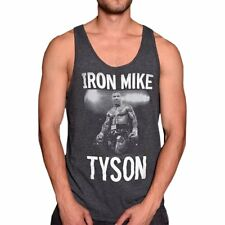 Mike Tyson Roots Of Fight Black BMOTP Tank Size 2XL
