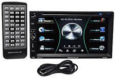 "Rockville RDD7 7"" Car DVD/iPhone/Pandora/USB Bluetooth Player Receiver+Cable"