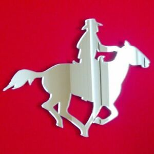 Cowboy on Horse Acrylic Mirror (Several Sizes Available)