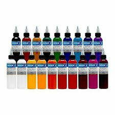Safe to Use & Lasting Result Tattoo Color Ink Sets 1oz 19 Color by Intenze