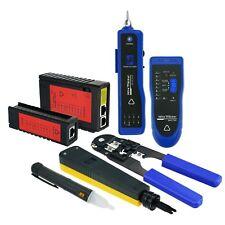Diagnostique Outil Kit Set Réseau Câble Testeur Ethernet LAN Tension Détecteur