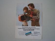 advertising Pubblicità 1972 TELEVISORE NAONIS LN 9