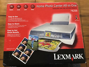 Lexmark P6250 Home Photo Center All-In-One Printer NEW Sealed