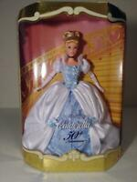 1999 Walt Disney's Cinderella 50th Anniversary Barbie Style Collector Doll 26291