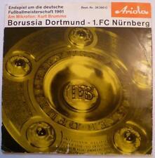 Schallplatte Endspiel Meisterschaft 1961 Borussia Dortmund 1. FC Nürnberg Ariola