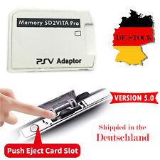 V5.0 SD2VITA PSVita Micro SD Speicherkarte Card Adapter für PS Vita Henkaku 3.60