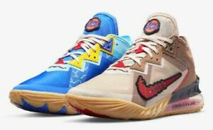 SPACE PLAYERS × NIKE LEBRON 18 LOW WILE E. × ROADRUNNER CV7562-401