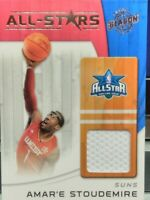 AMAR'E STOUDEMIRE 2010-11 PANINI SEASON UPDATE ALL-STARS ALL-STAR GAME JERSEY SP