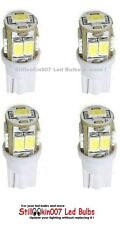 4 pack Automotive T10 9smd 5630 Led Bulbs replace 912, 918, 921, 922 Cool White