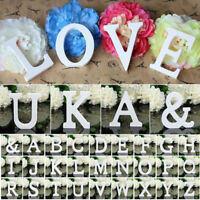 26 Wooden Wood Letter Alphabet Word Free Standing Wedding Party Home Decor SY