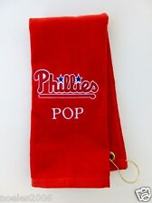 Personalized Embroidered Golf Bowling Workout Towel Philadelphia Phillies MLB