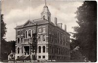 c1910 ROCKLAND Maine Me Postcard KNOX COUNTY COURT HOUSE