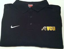 VCU NIKE Black Long Sleeve Polo!  Brand New With Tags!!! Size  Large