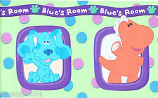 Blue's Clues Room Kids Animal Wall paper Border