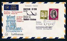 62186) LH FF Hamburg - Lissabon 6.4.68, SoU, RR!!