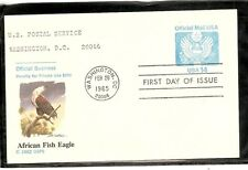 US SC # UZ3 Official Mail, Great Seal FDC. Fleetwood Cachet.