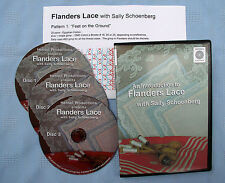 Intro to Flanders Lace Bobbin Lace Making Instructional Dvd Set Sally Schoenberg