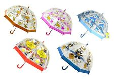 Bugzz Infantil Niños Claro Paraguas Cúpula Varios Estampado Niña Niño Divertido