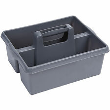 Wham SILVER plastic handy kitchen cleaning tool box utility caddy storage tidy