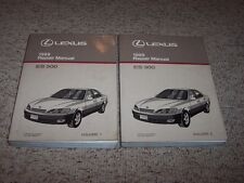 1999 Lexus ES300 ES 300 Workshop Shop Service Repair Manual Set 3.0L
