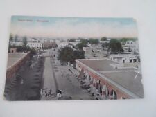 Vintage Postcard SUDDER BAZAR RAWALPINDI   - India        §A106