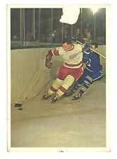 BILL GADSBY 1963-64 Toronto Star '63 Hockey Stars In Action Detroit Red Wings G