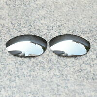 RAWD Silver Mirrored Replacement Lens for-Oakley Monster Dog Sunglass POLARIZED