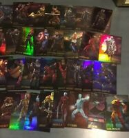 Full NON-FOIL Set of Marvel Contest Of Champions Arcade Game Cards Dave Busters
