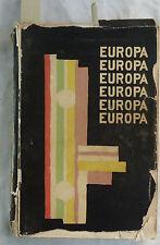 Europa Almanach. Hsg.: Carl Einstein u. Paul Westheim. 1925. Original!