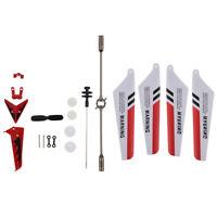 Syma Palas principales, eje principal, decoraciones de cola, juego rojo- Pi N6R1