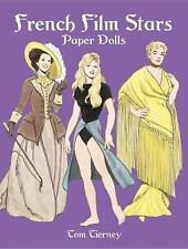 NEW French Film Stars Paper Dolls (Dover Celebrity Paper Dolls) by Tom Tierney