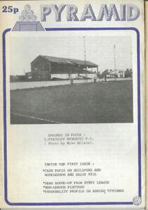 PYRAMID Issue No.1 (Non League Football Magazine) feat. Guildford & Worplesdon