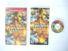 UNTOLD LEGENDS BROTHERHOOD OF THE BLADE complete in box with manual Sony PSP