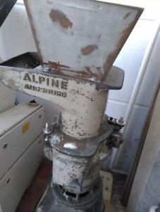 Alpine Augsburg Granulator, Kunststoff Schneidmühle, Schredder, Baujahr 1961
