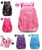 Kids Girls Backpack Waterproof Book Shoulder School Bag Teenagers Large Capacity