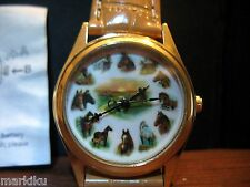 New Ruane Manning Horse Wrist watch analog battery operated