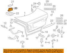 MERCEDES OEM 00-02 E320 Trunk Lid-Vacuum Pump 2108002748
