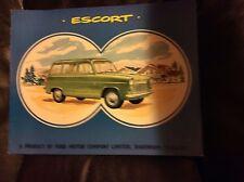 1960 Ford Escort Sales Brochure
