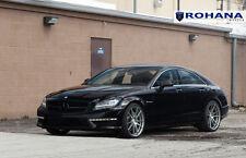 20x9 +25 20x10 +33 Rohana RF2 5x112 Titanium Wheels Fit Mercedes Benz Cls63 2012